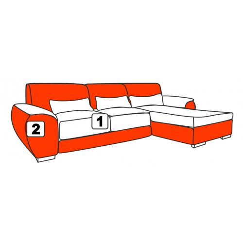 Угловой диван Davidos Ramon